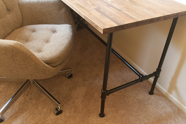 Best ideas about DIY Butcher Block Desk . Save or Pin insideways DIY Custom Desk Now.