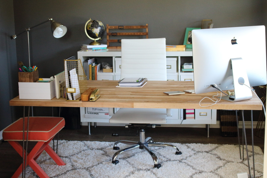 Best ideas about DIY Butcher Block Desk . Save or Pin Blog Modish & Main Now.