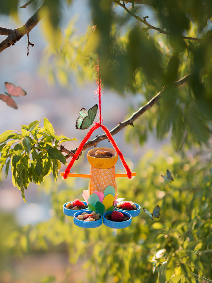 Best ideas about DIY Butterfly Feeder . Save or Pin How to Make a Recycled Butterfly Feeder ⋆ Handmade Charlotte Now.