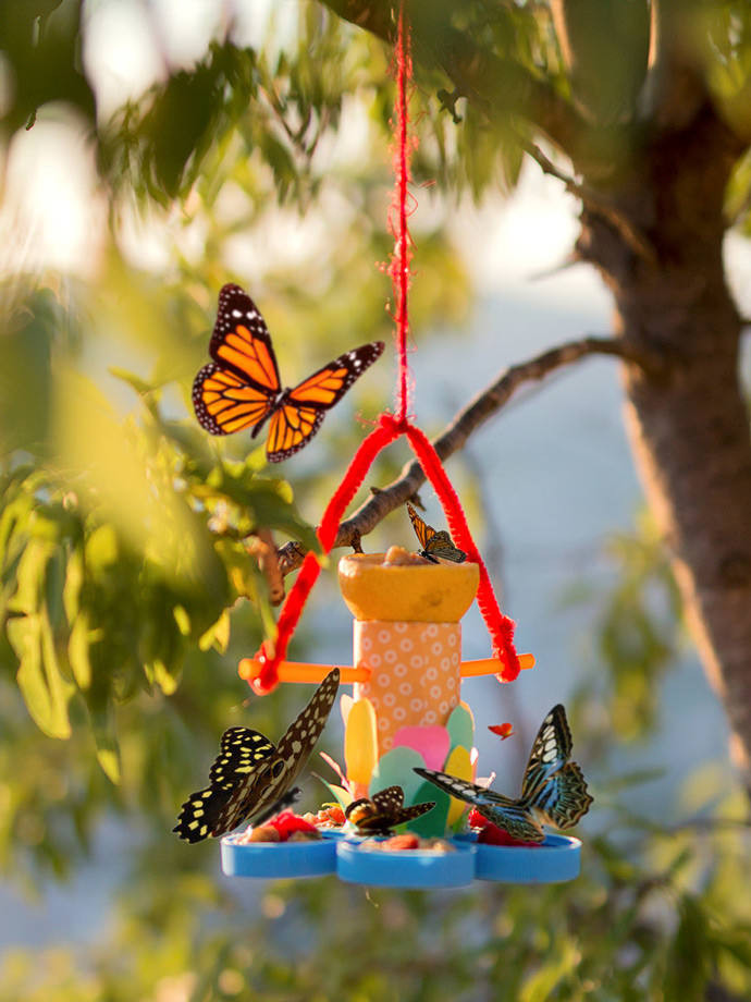 Best ideas about DIY Butterfly Feeder . Save or Pin How to Make a Recycled Butterfly Feeder Now.