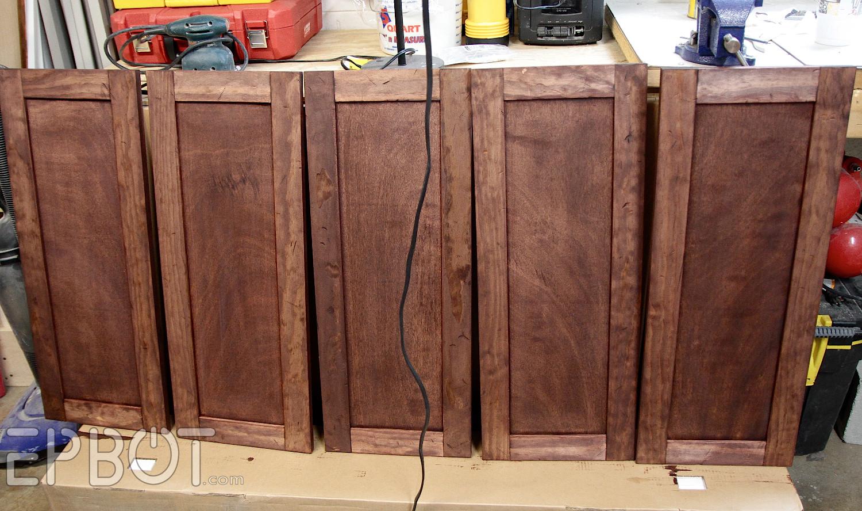 Best ideas about DIY Cabinet Doors . Save or Pin EPBOT DIY Vintage Rustic Cabinet Doors Now.