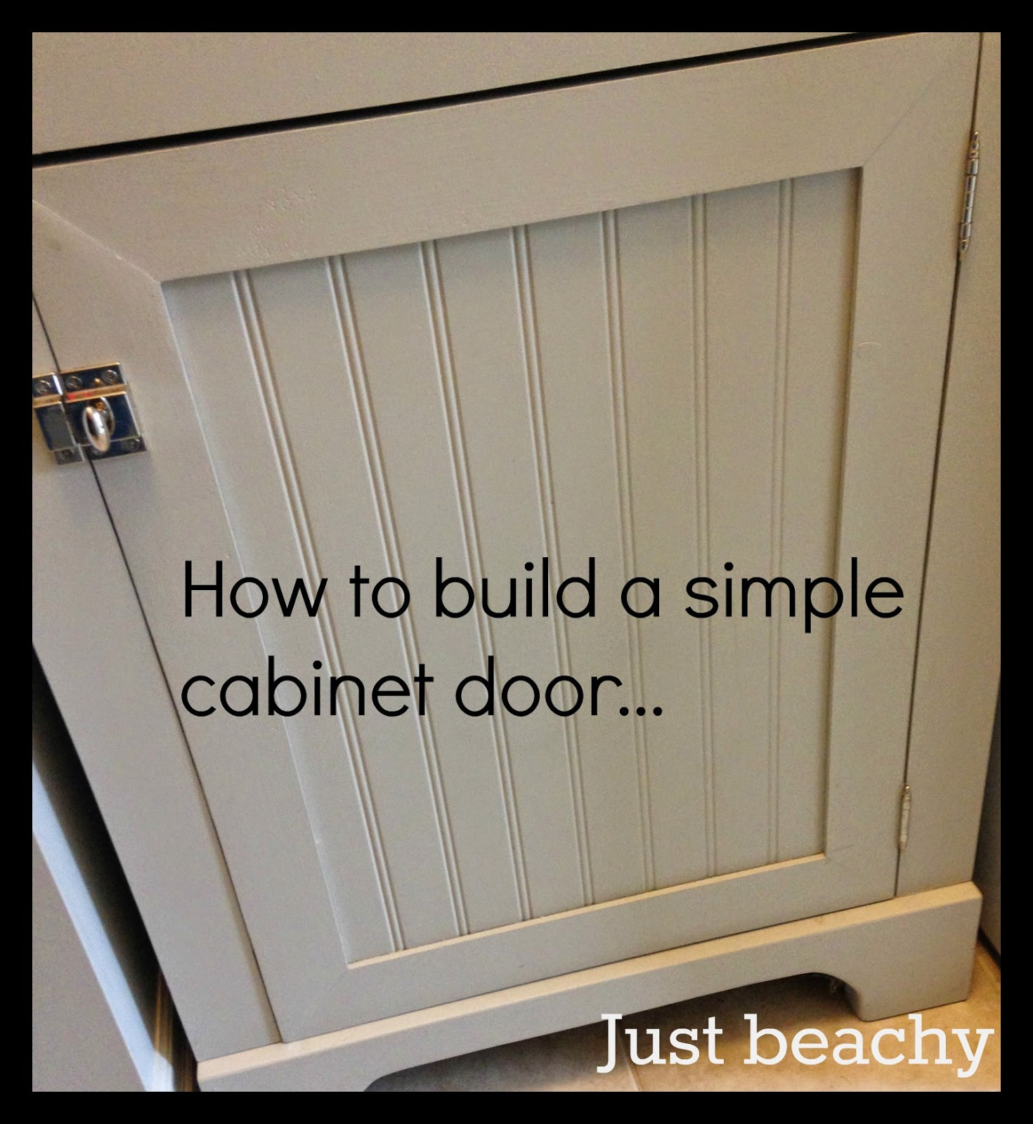 Best ideas about DIY Cabinet Doors . Save or Pin White Wood DIY shaker doors Now.