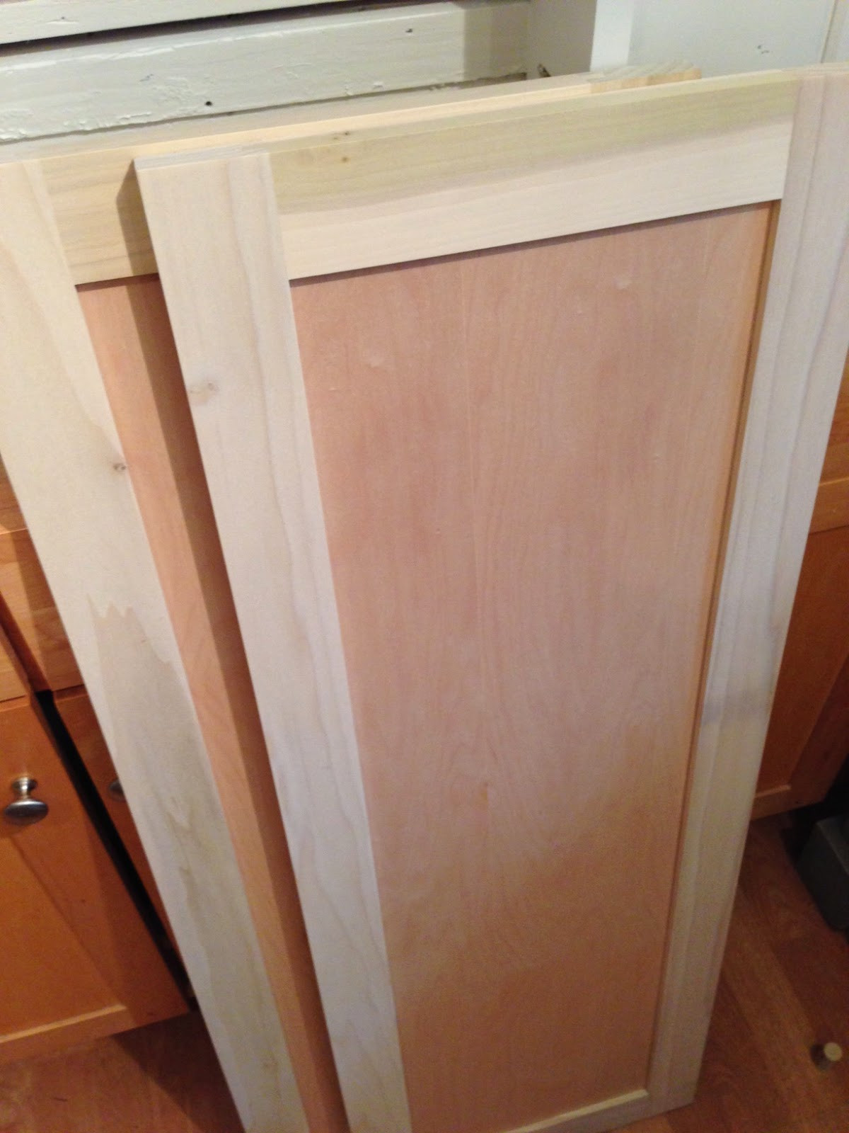 Best ideas about DIY Cabinet Doors . Save or Pin blue roof cabin DIY Pantry Cabinet Using Custom Cabinet Doors Now.