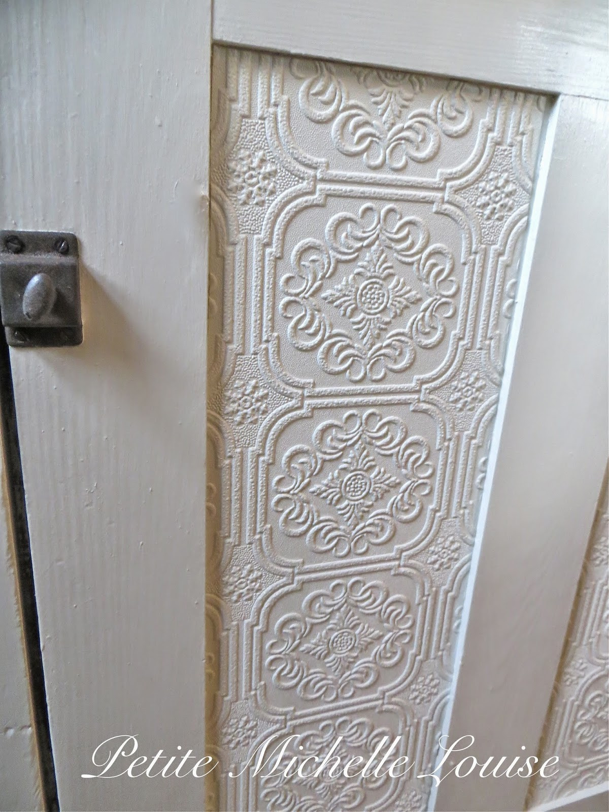 Best ideas about DIY Cabinet Doors . Save or Pin Petite Michelle Louise DIY Cabinet Door Facelift Now.
