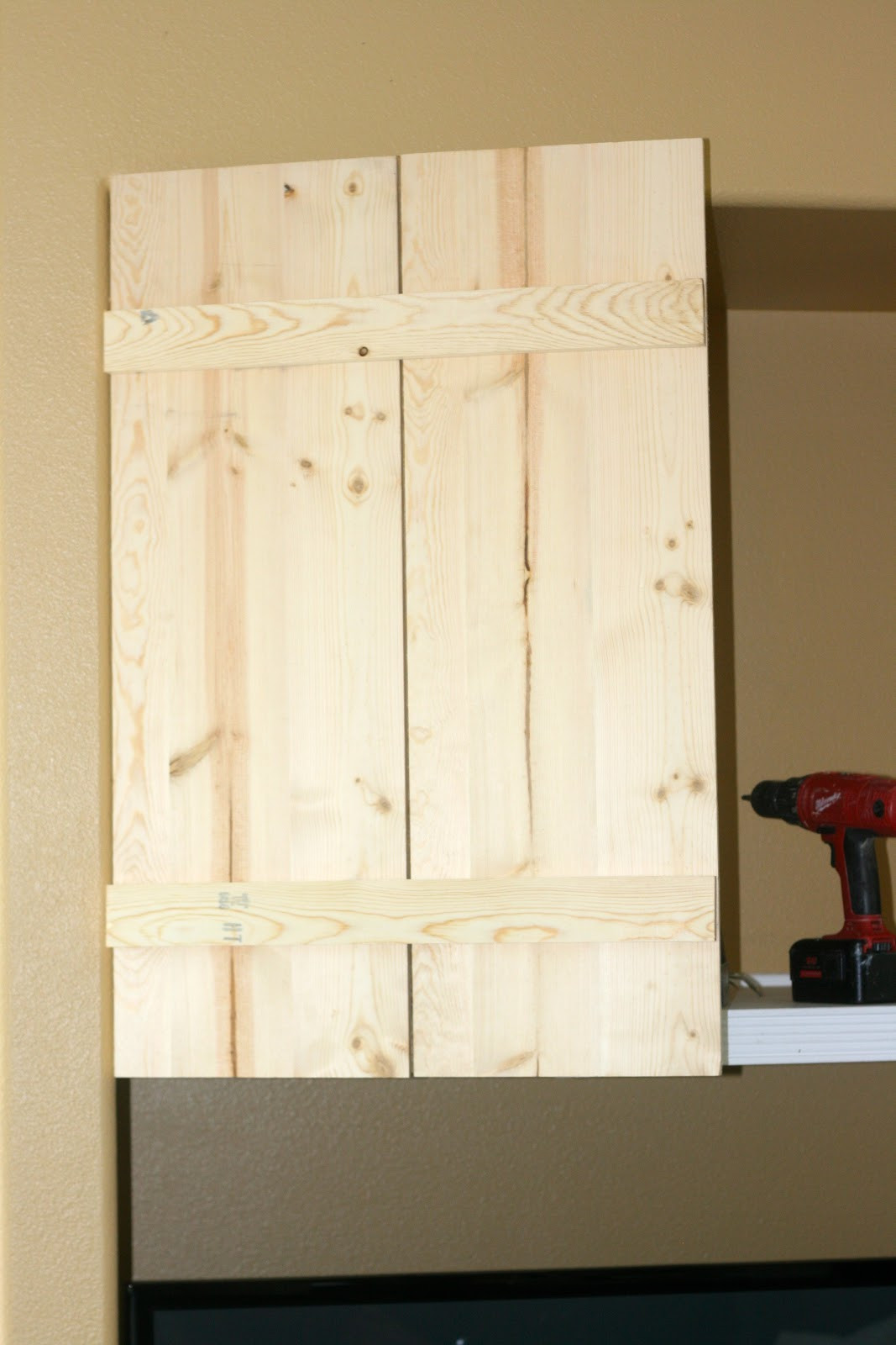 Best ideas about DIY Cabinet Doors . Save or Pin Finley Gray Diy Barn Cabinet Doors Now.