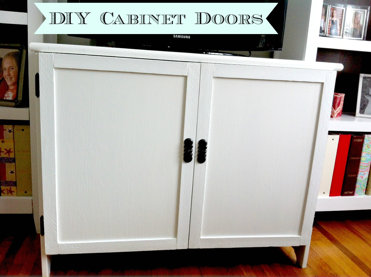 Best ideas about DIY Cabinet Doors . Save or Pin DIY Cabinet Doors Mom in Music City Now.