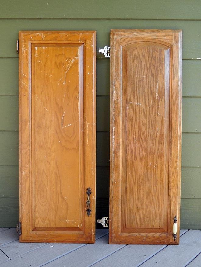 Best ideas about DIY Cabinet Doors . Save or Pin DIY Repurposed Cabinet Doors Now.