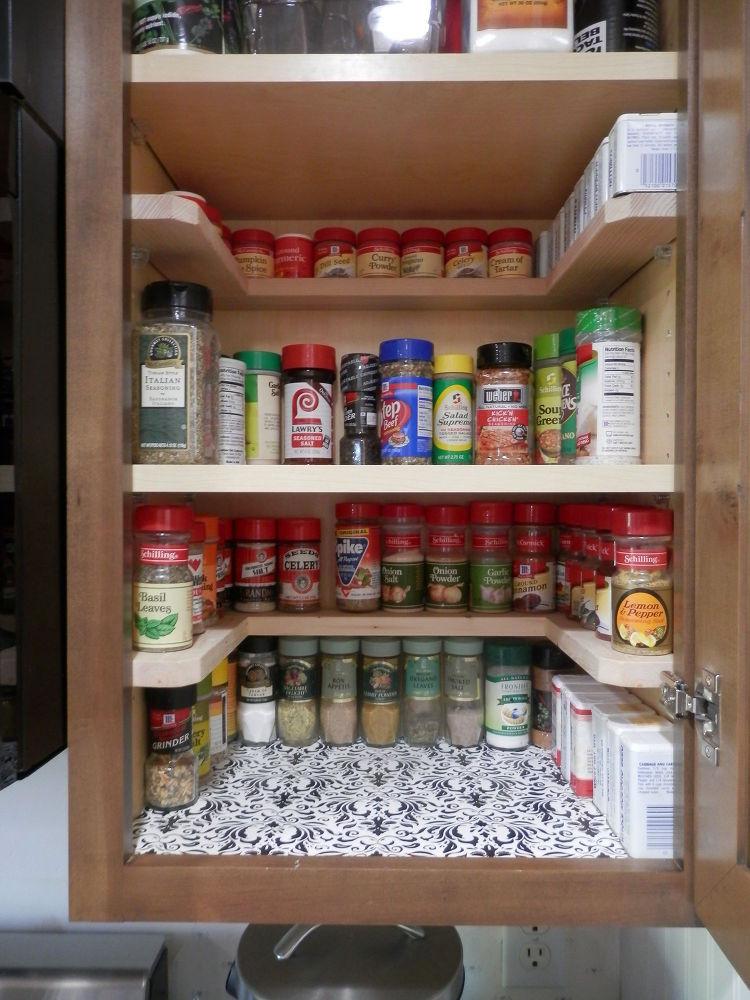 Best ideas about DIY Cabinet Organization . Save or Pin DIY Spicy Shelf organizer Now.
