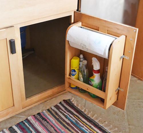 Best ideas about DIY Cabinet Organization . Save or Pin How to Make Kitchen Cabinet Door Organizer DIY & Crafts Now.