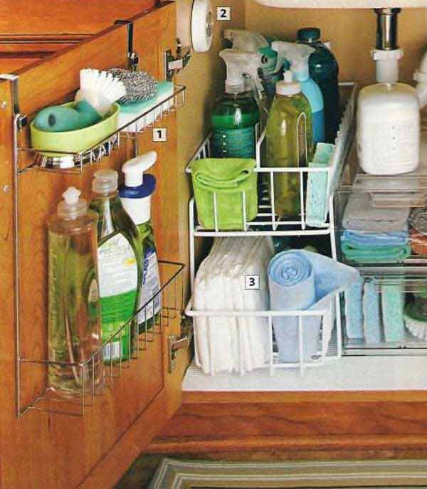 Best ideas about DIY Cabinet Organization . Save or Pin 37 DIY Hacks and Ideas To Improve Your Kitchen Now.