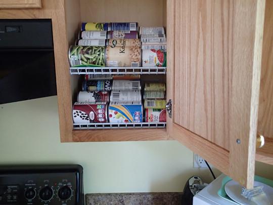 Best ideas about DIY Cabinet Organization . Save or Pin DIY Kitchen Cabinet Organization Rotation Shelves Now.