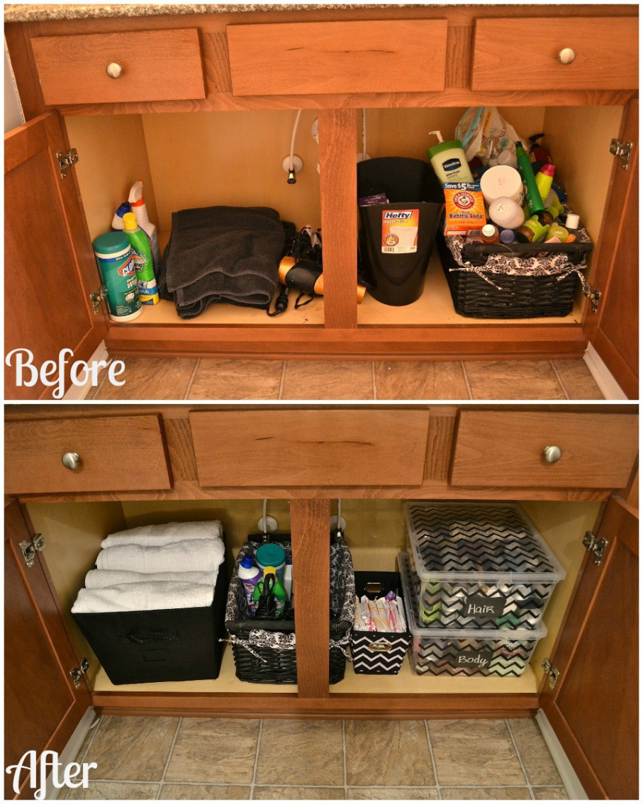 Best ideas about DIY Cabinet Organization . Save or Pin How to organize your bathroom cabinet Great tips for Now.