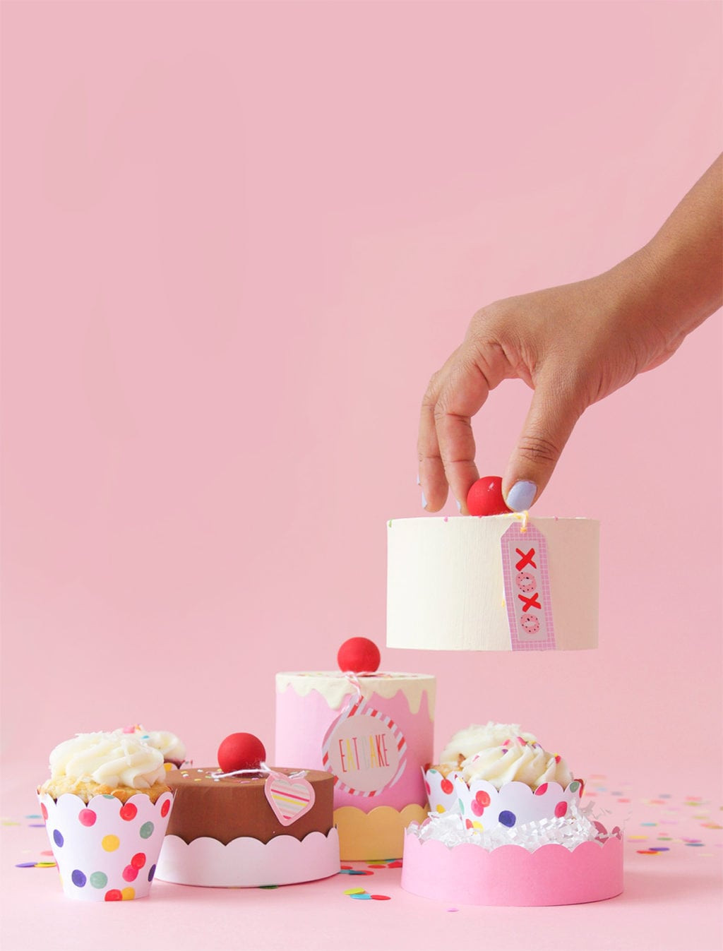Best ideas about DIY Cake Box . Save or Pin Easy DIY Paper Mache Cake Box Now.