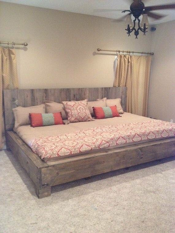 Best ideas about DIY California King Bed Frame . Save or Pin California king size bed For the Home in 2019 Now.