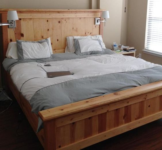 Best ideas about DIY California King Bed Frame . Save or Pin California king bed frame King beds and Bed frame plans Now.