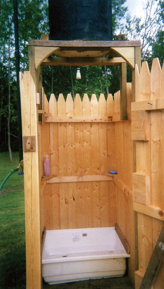 Best ideas about DIY Camp Showers . Save or Pin Homestead Crossing Inc s Blog DIY Outdoor Shower Now.
