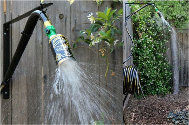 Best ideas about DIY Camp Showers . Save or Pin 16 DIY Outdoor Shower Ideas A Piece of Rainbow Now.