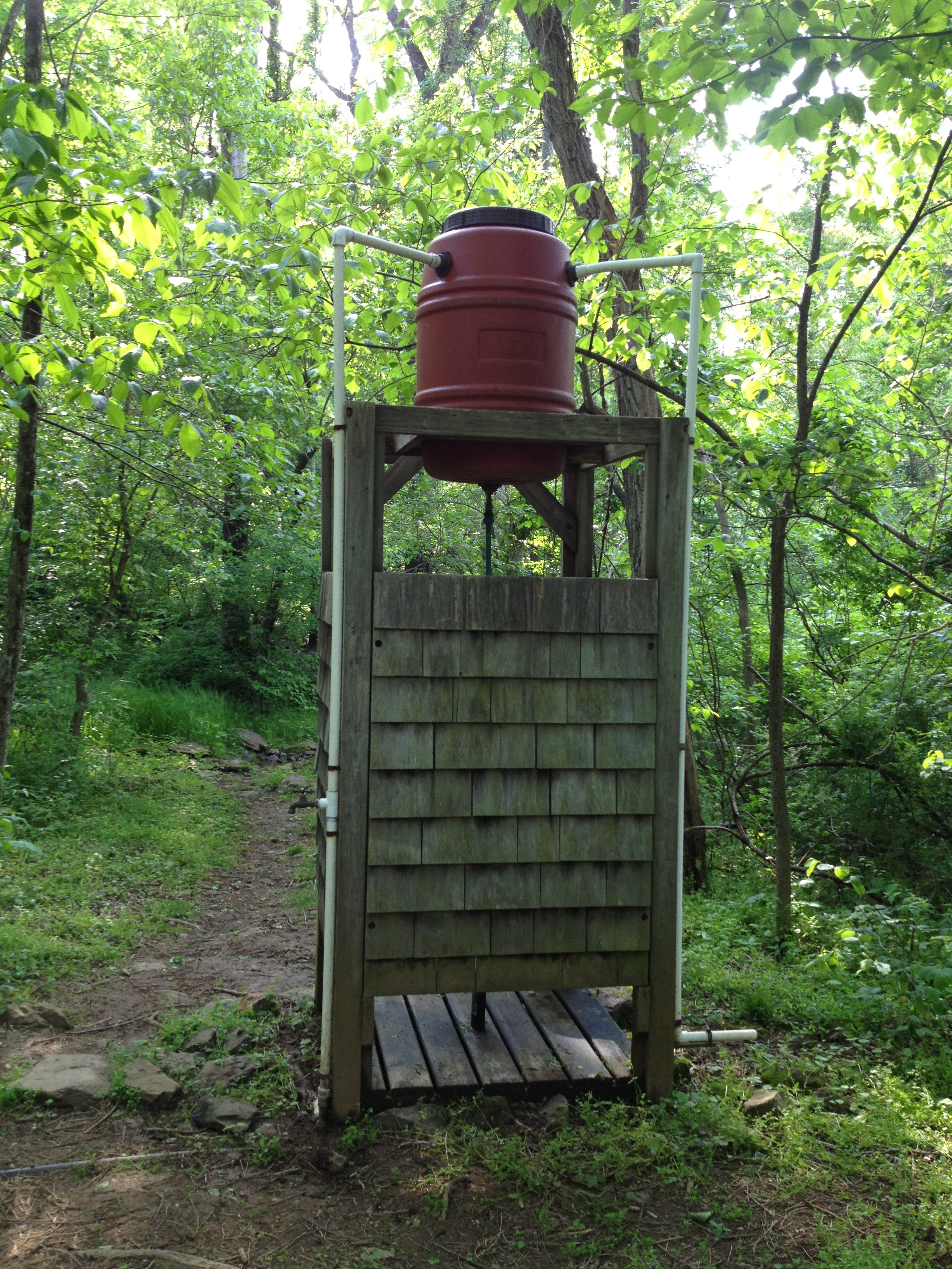 Best ideas about DIY Camp Showers . Save or Pin Day Seventy e – Leaving the Shenandoahs and heading to Now.