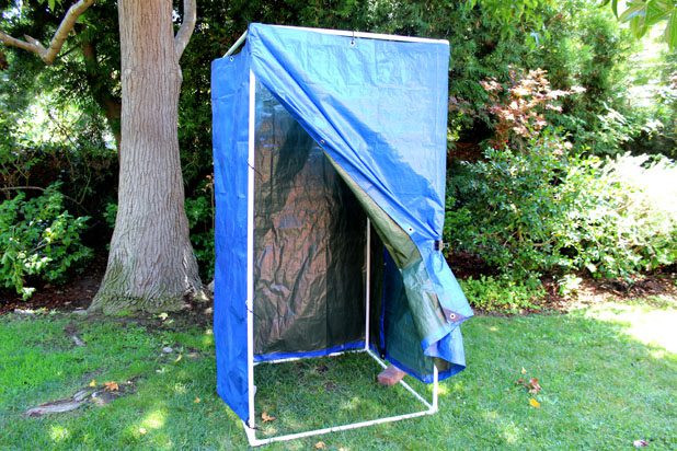 Best ideas about DIY Camp Showers . Save or Pin How to Make a Homemade Camping Shower with Now.
