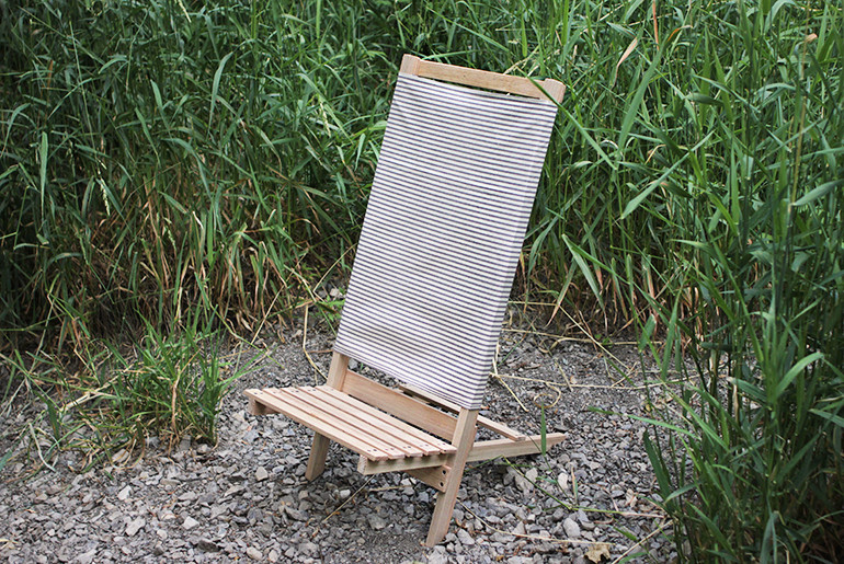 Best ideas about DIY Camping Chairs . Save or Pin DIY Wooden Camp Beach Chair The Merrythought Now.