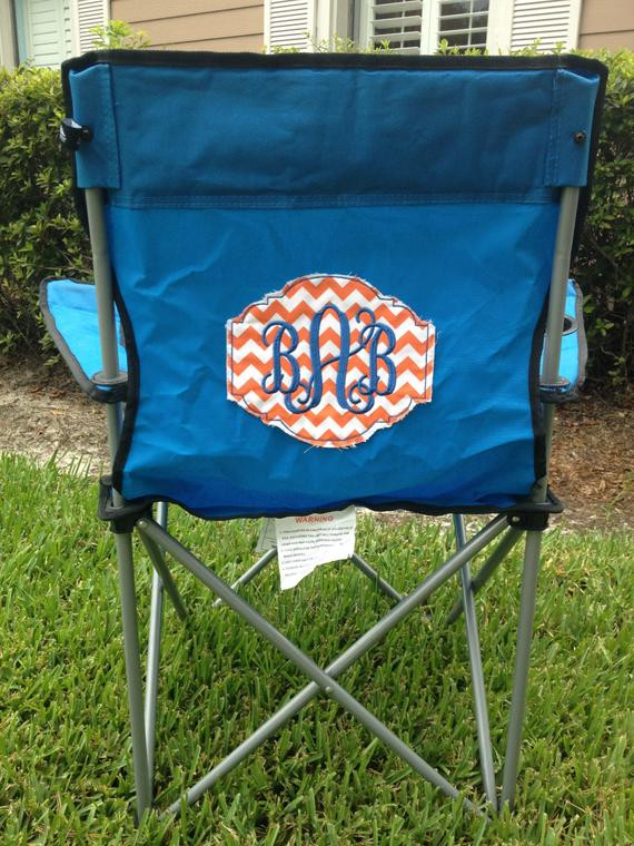 Best ideas about DIY Camping Chairs . Save or Pin Items similar to DIY Tailgate Chair Patch on Etsy Now.
