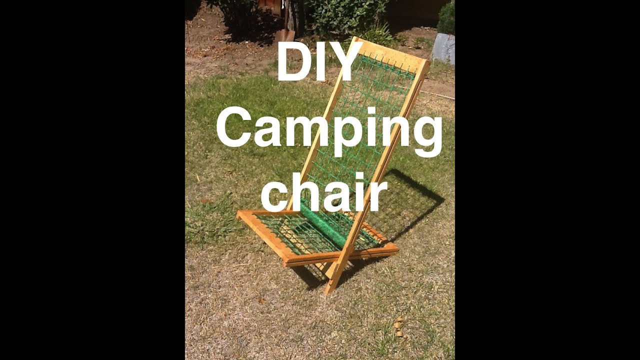 Best ideas about DIY Camping Chairs . Save or Pin Simple DIY Portable Camping Chair Now.