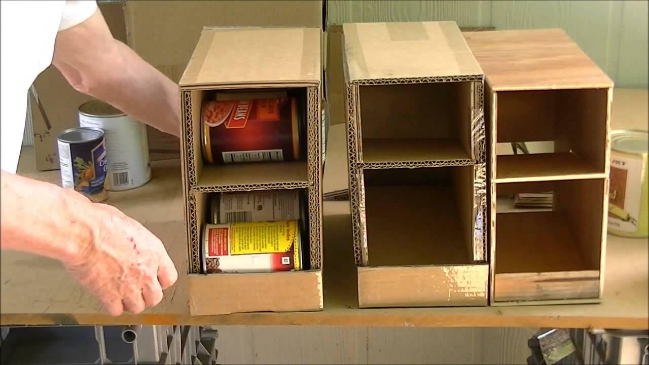 Best ideas about DIY Can Storage . Save or Pin Home Made Can Organizer Now.