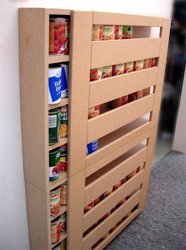 Best ideas about DIY Can Storage . Save or Pin DIY RV Food Storage Can Dispenser Keep the RV Pantry Now.