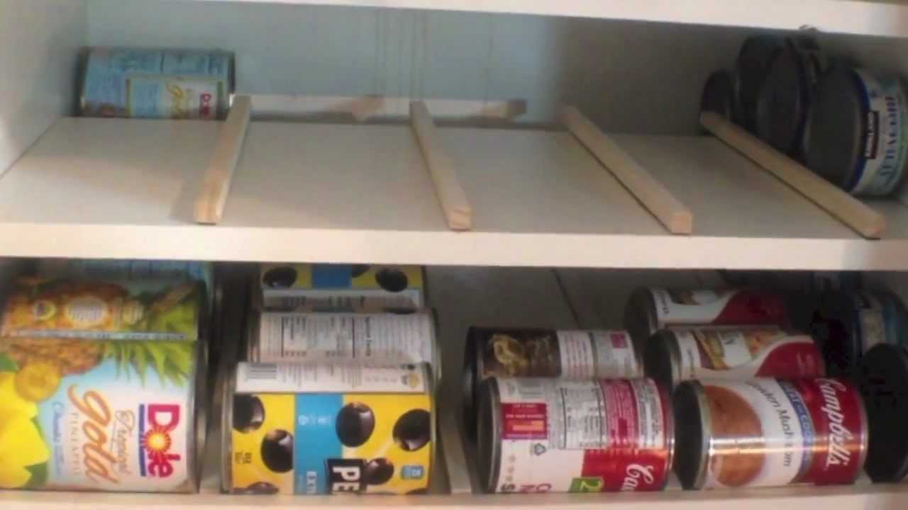 Best ideas about DIY Can Storage . Save or Pin Food Storage can rotation solution Now.
