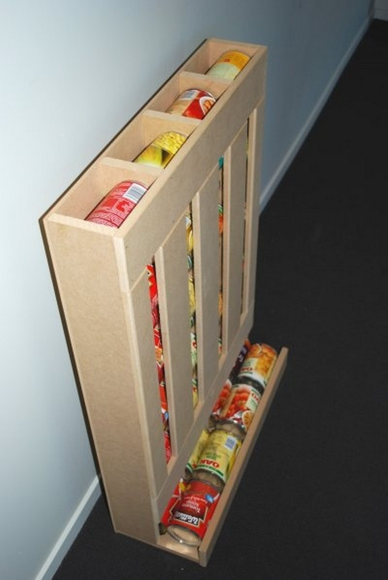 Best ideas about DIY Can Storage . Save or Pin DIY Rotating Can Dispenser – The Owner Builder Network Now.