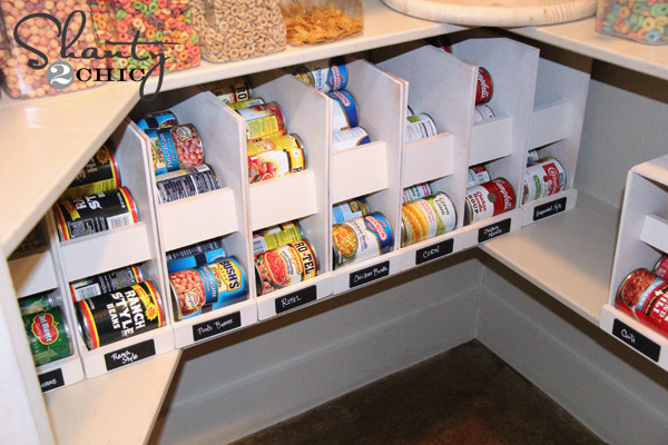 Best ideas about DIY Can Storage . Save or Pin 16 DIY Canned Food Organizers Now.