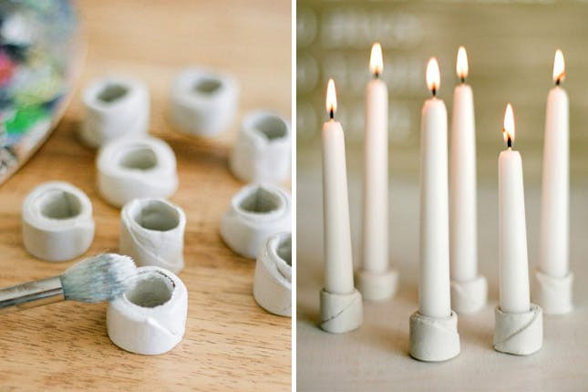 Best ideas about DIY Candle Holders . Save or Pin 25 Beautiful Candle Holders You Can DIY Now.