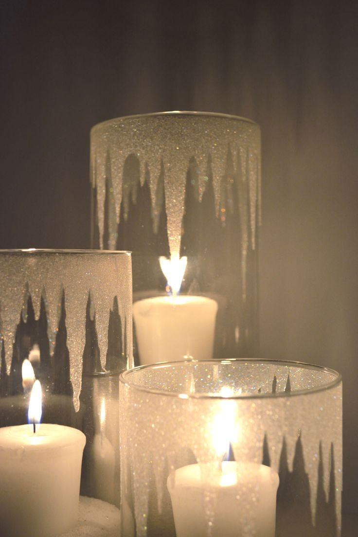 Best ideas about DIY Candle Holders . Save or Pin 17 Easy DIY Holiday Candle Holders Now.