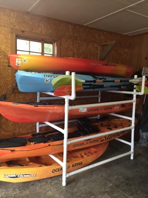 Best ideas about DIY Canoe Rack . Save or Pin NEJC Diy kayak rack Now.
