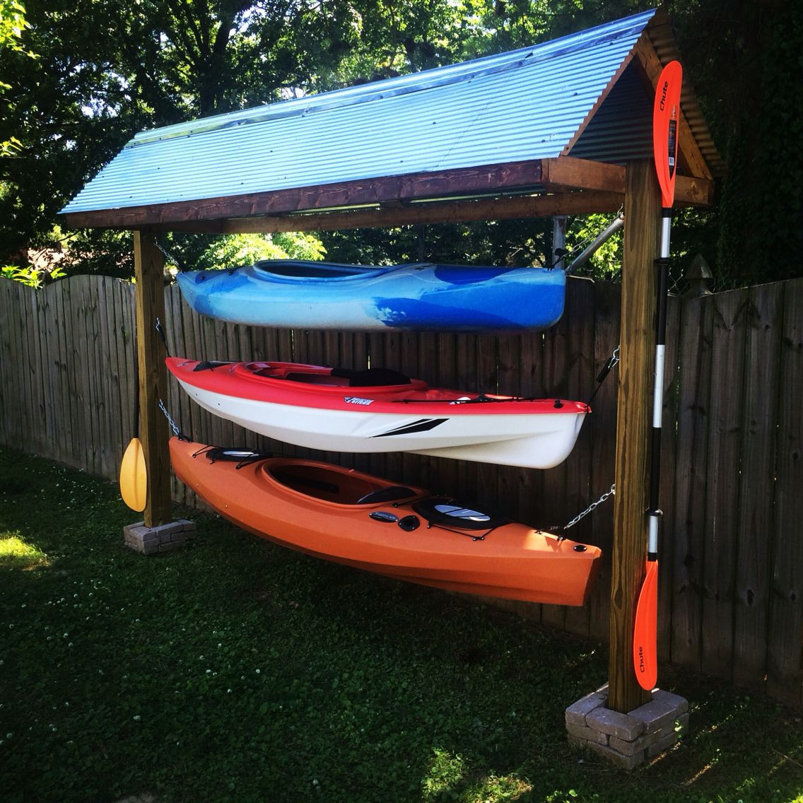 Best ideas about DIY Canoe Rack . Save or Pin Kayak rack diy kayaking Pinterest Now.