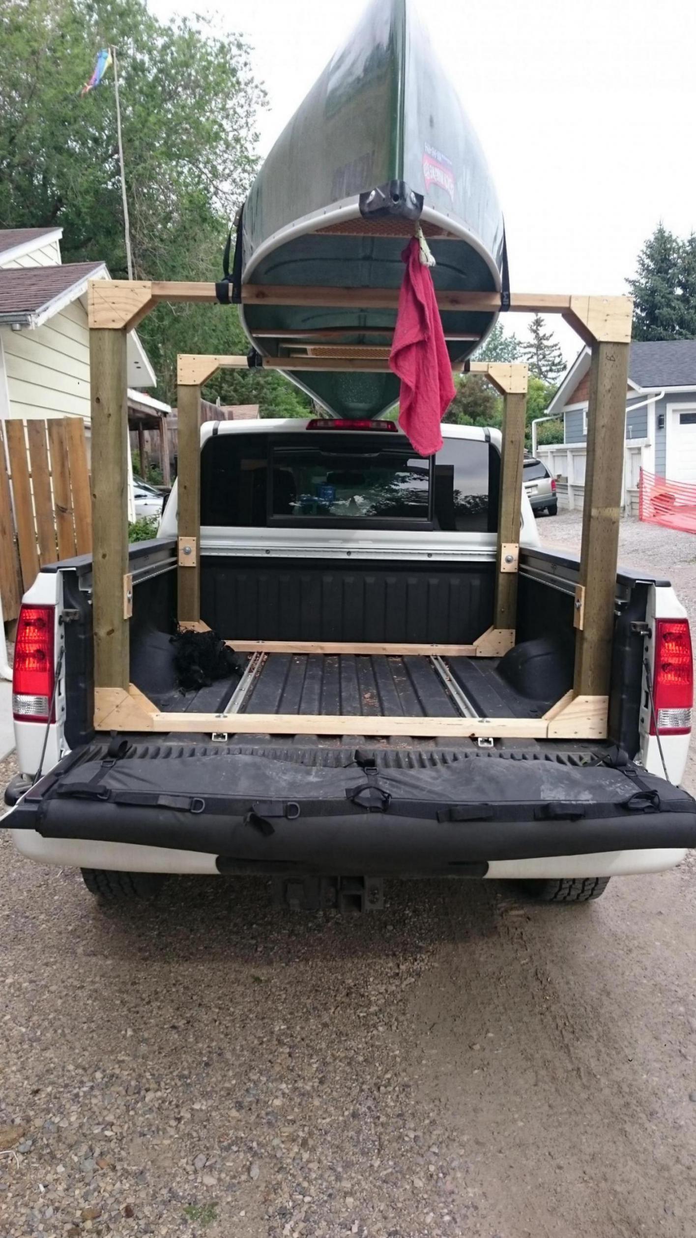 Best ideas about DIY Canoe Rack . Save or Pin DIY canoe rack Nissan Titan Forum Now.