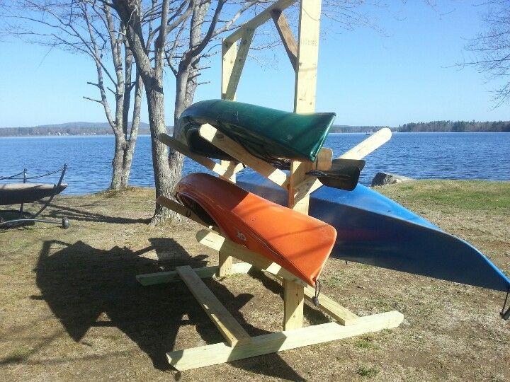 Best ideas about DIY Canoe Rack . Save or Pin Kayak rack DIY Pinterest Now.