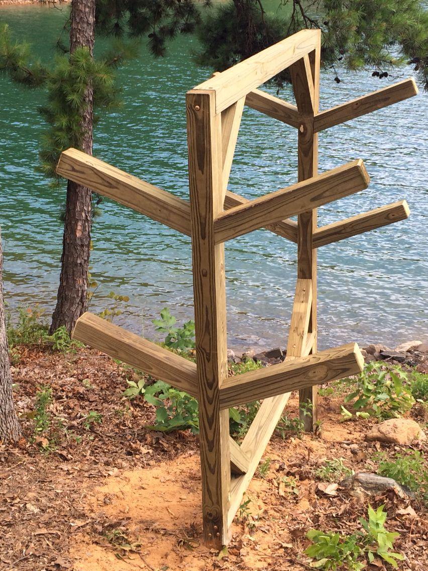 Best ideas about DIY Canoe Rack . Save or Pin Best 25 Kayak holder ideas on Pinterest Now.