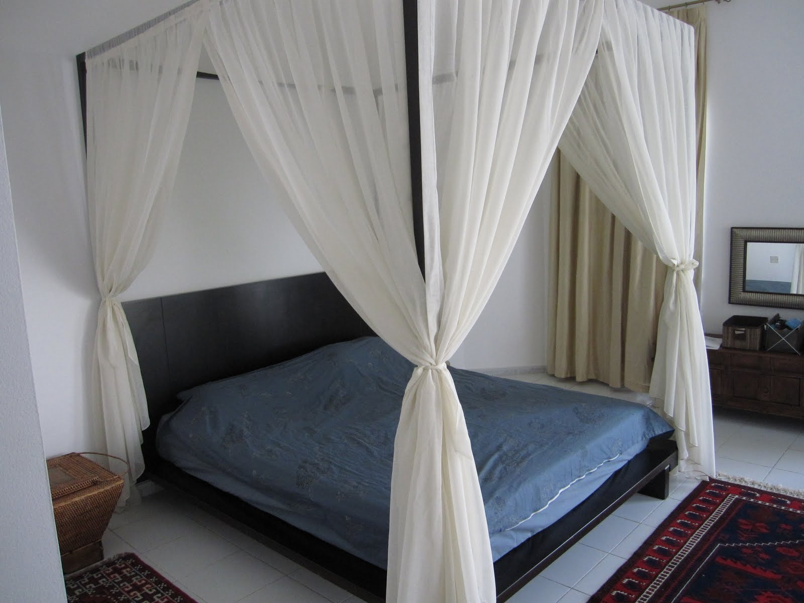 Best ideas about DIY Canopy Bed Curtains . Save or Pin DIY Canopy Bed from PVC Pipes MidCityEast Now.