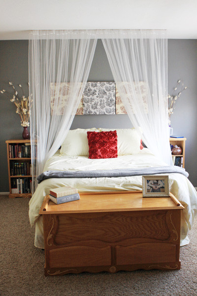 Best ideas about DIY Canopy Bed Curtains . Save or Pin How to Make a Canopy Bed without Buying a New Bed – Better Now.