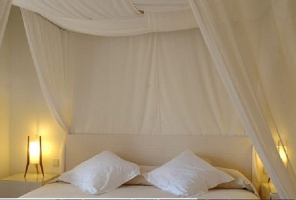 Best ideas about DIY Canopy Bed Curtains . Save or Pin diy canopy bed curtains Now.