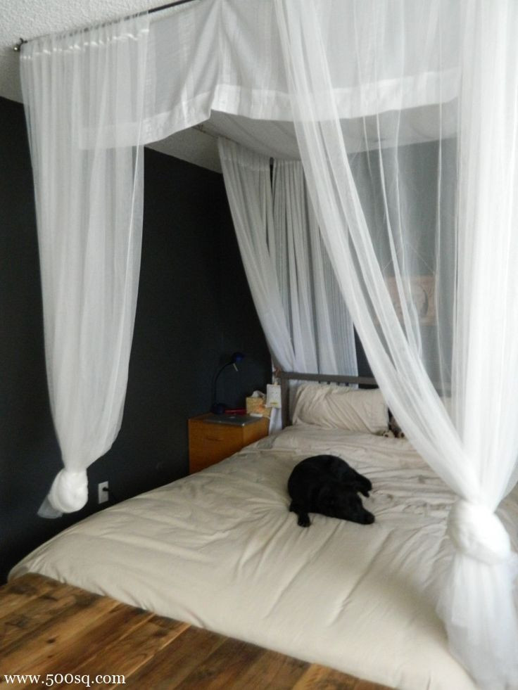 Best ideas about DIY Canopy Bed Curtains . Save or Pin 17 Best ideas about Canopy Bed Curtains on Pinterest Now.