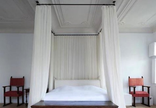 Best ideas about DIY Canopy Bed With Curtain Rods . Save or Pin DIY Canopy Bed 5 You Can Make Bob Vila Now.