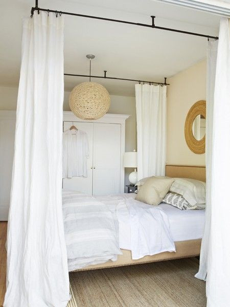 Best ideas about DIY Canopy Bed With Curtain Rods . Save or Pin Canopy Bed Curtain Rods & Remarkable Diy Canopy Bed With Now.