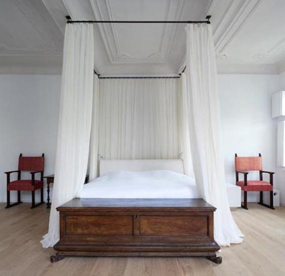 Best ideas about DIY Canopy Bed With Curtain Rods . Save or Pin 9 Preciosas camas con dosel DIY Now.