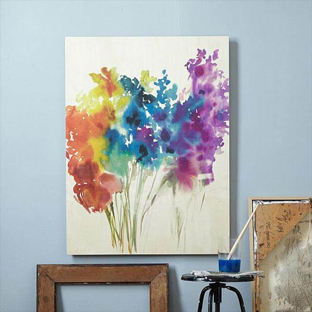 Best ideas about DIY Canvas Paintings . Save or Pin 10 Easy DIY Canvas Art Ideas For Beginners Now.