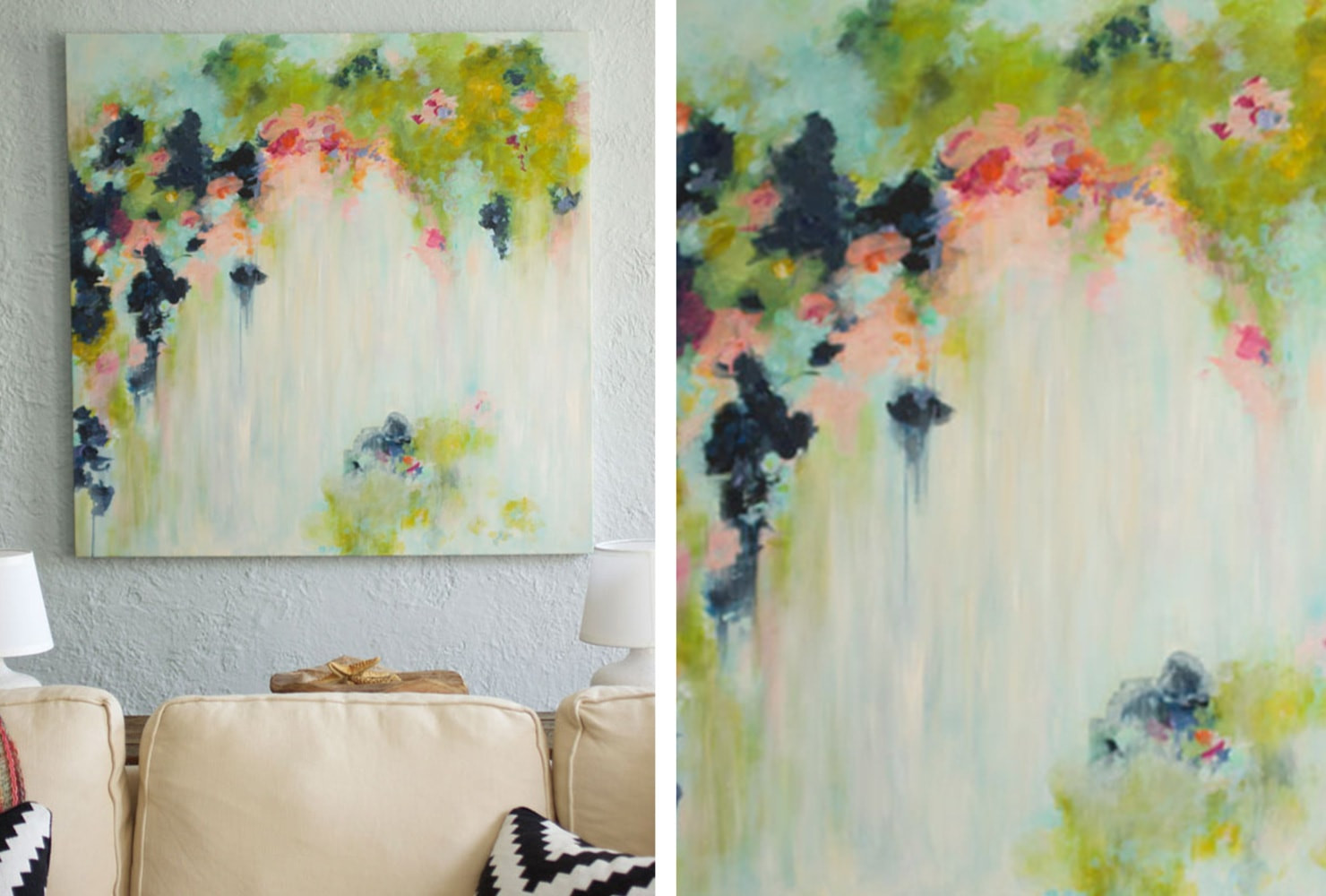 Best ideas about DIY Canvas Paintings . Save or Pin 39 Beautiful DIY Canvas Painting Ideas for Your Home Now.