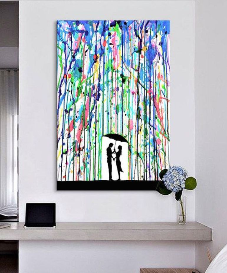Best ideas about DIY Canvas Paintings . Save or Pin Creative DIY Wall Art Ideas And Inspiration Now.
