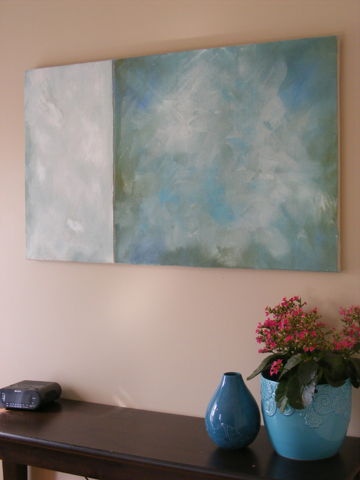 Best ideas about DIY Canvas Paintings . Save or Pin Simple Thrifty DIY Art Now.