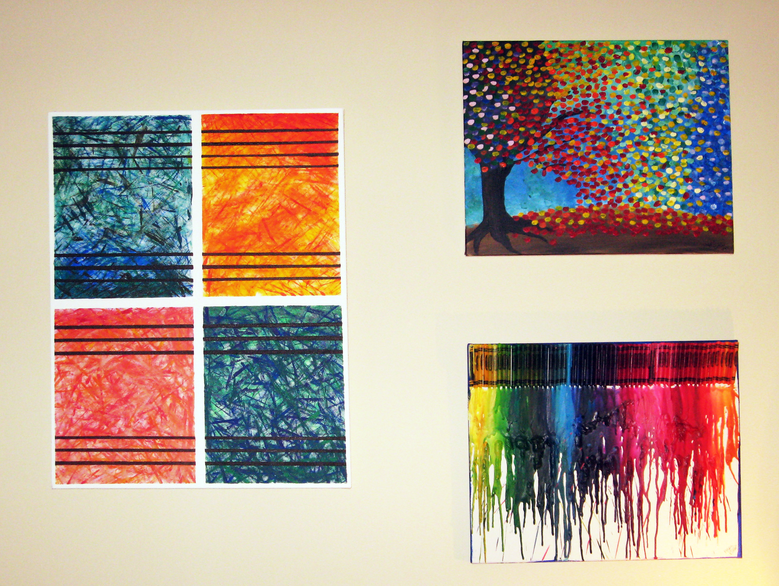 Best ideas about DIY Canvas Paintings . Save or Pin DIY Abstract Wall Art Now.